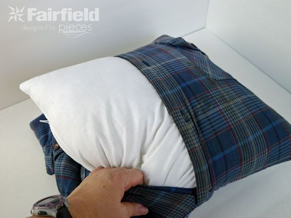 Pieces by Polly: Granddad's Memory Pillow