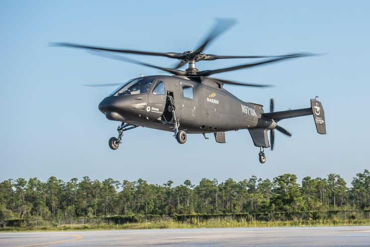 Sikorsky S-97 Raider reconnaissance and attack compound helicopter [4735x3159]