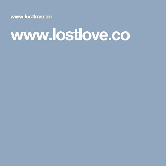 www.lostlove.co