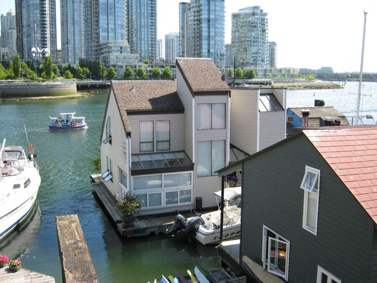 Best Floating House Boat Images On Pinterest Houseboats - Awesome floating house shore vista boat dock by bercy chen studio