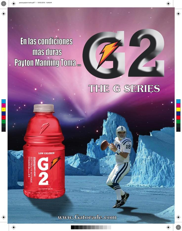Publicidad Gatorade G2