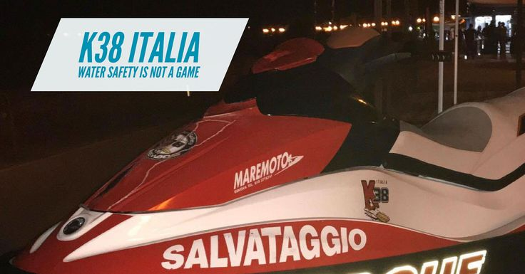 https://flic.kr/p/239x85x | K38 Italia | K38Italia.it is a rescue water craft service provider in Italy, it is run by Fabio Annigoni and he operator with BRP Sea Doo aquabikes.