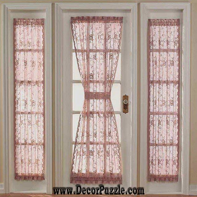 French Door Curtains And Blinds French Style Curtains For Door