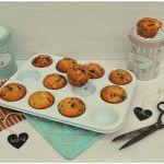 Malinovo-borůvkové+muffiny