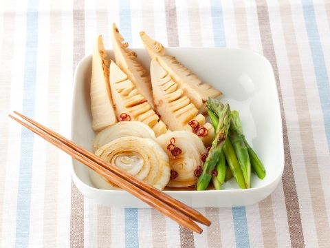食卓に春の彩りを みたらし春野菜焼き  https://recipe.yamasa.com/recipes/711
