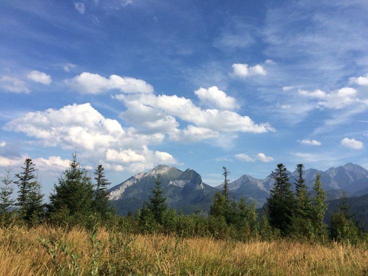 View from Rusinowa Polana