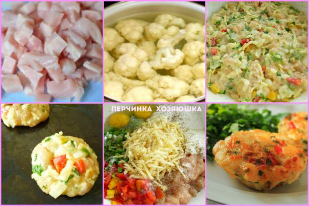 Котлеты *Витаминные* из овощей и курицы - Перчинка хозяюшка