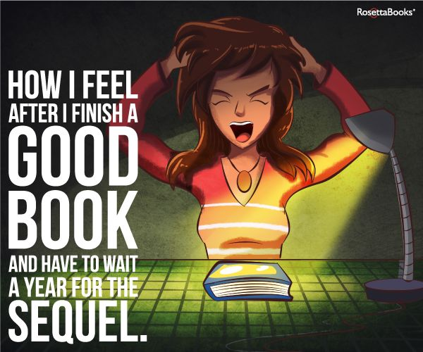 How I Feel After I Finish A Good Book And Have To Wait A Year For