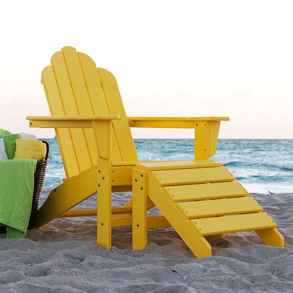 Long Island Adirondack Chair And Ottoman $159 $502 · Wood Patio ...