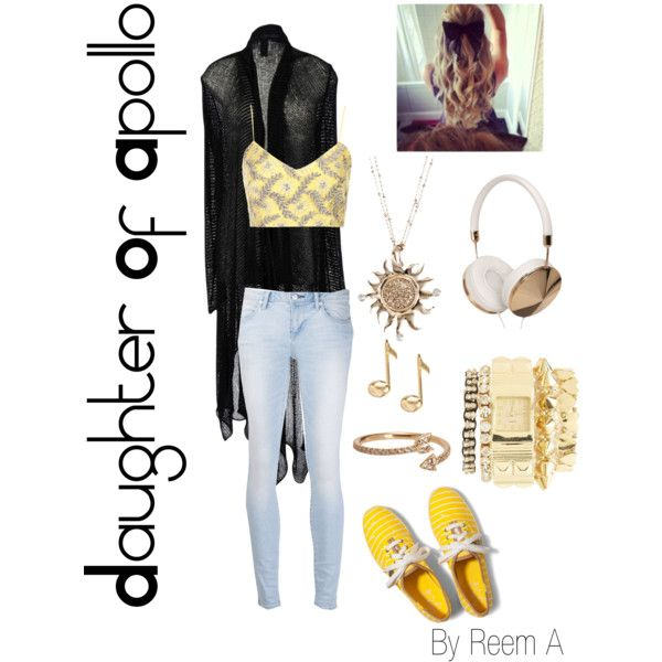 Daughter Of Apollo Casual Outfit, Cabin 7, Percy Jackson Inspired Outfit