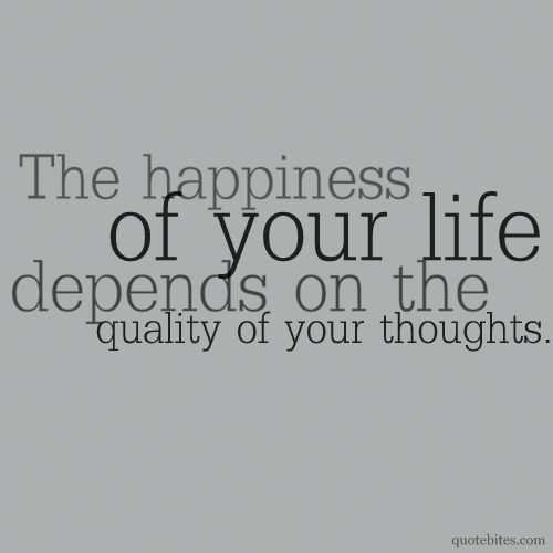 This is so true. Think positive thoughts and you will live a
