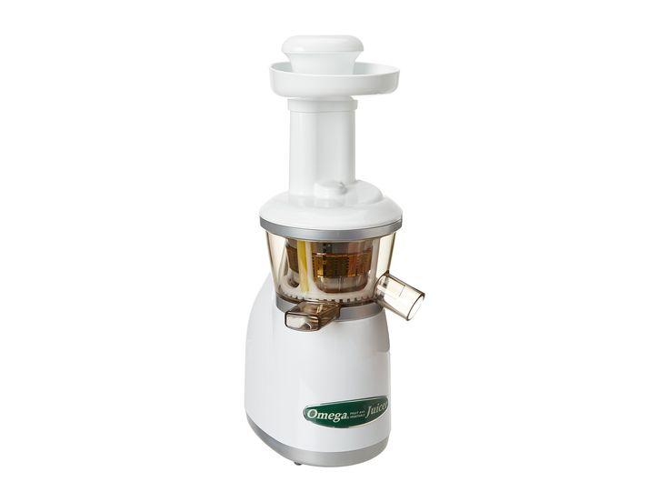 omega vert vrt350hd vertical slow juicer for juicing fruit vegetables and wheatgrass colour shown - Omega Juicers