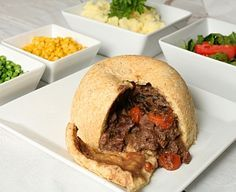 Another shot of that GODLIKE Steak and Kidney Pudding...OMG I love this dish oooooooh!