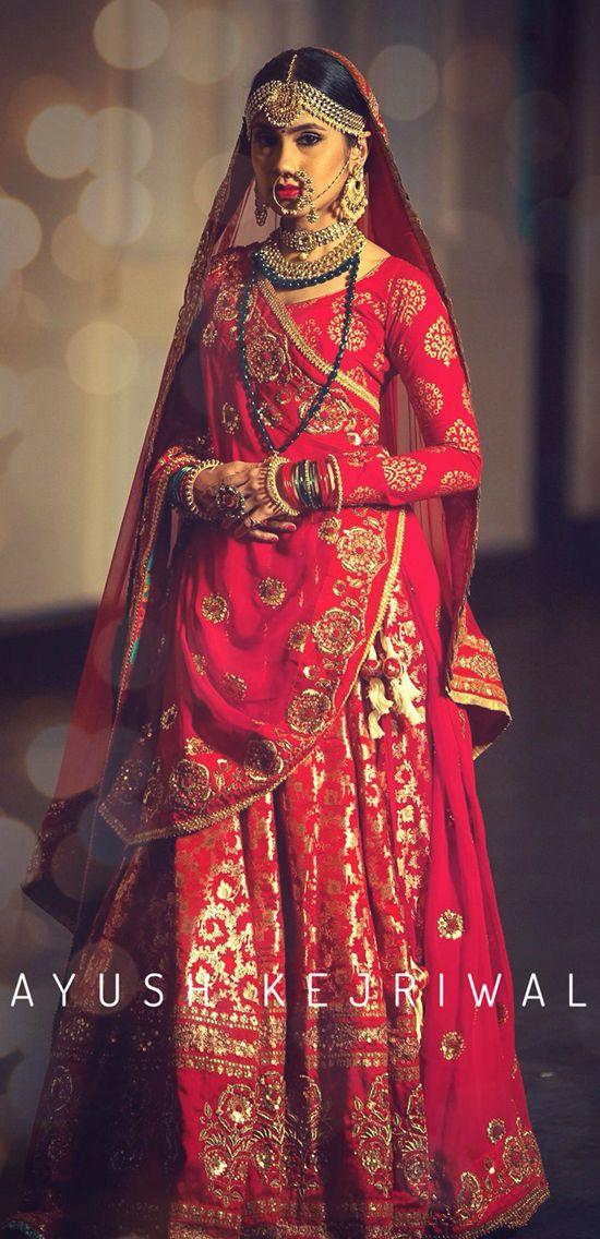 Vintage banarsi bridal lengha by Ayush Kejriwal For purchases email me at designerayushkejriwal@hotmail.com or what's app me on…