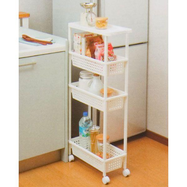 スリムワゴン(4段) | ニトリ公式通販 家具・インテリア・生活雑貨通販 ...