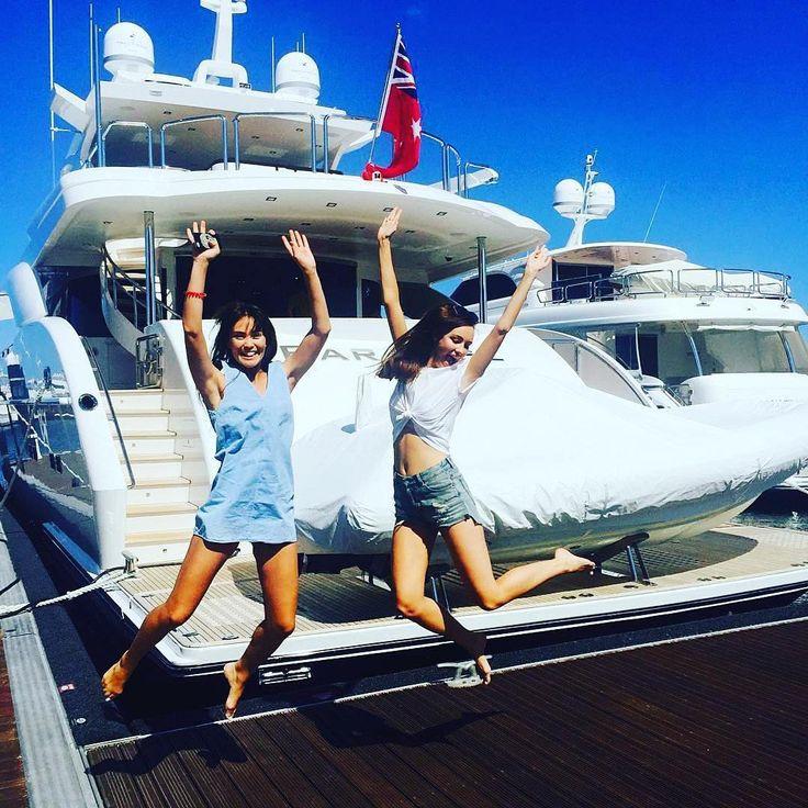 Happy #nationalsiblingsday From Super Yacht PARADISE, Perth, Australia.  #australiansuperyachts #superyachtsperth