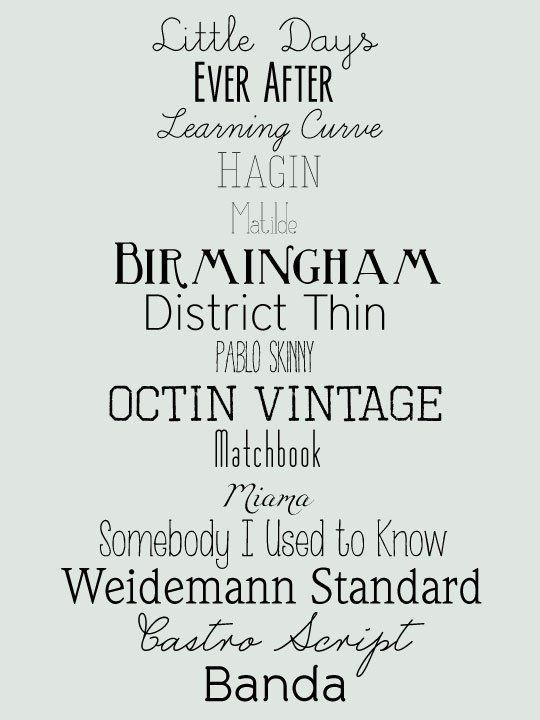 15 Free Fonts For Diy Wedding Invites