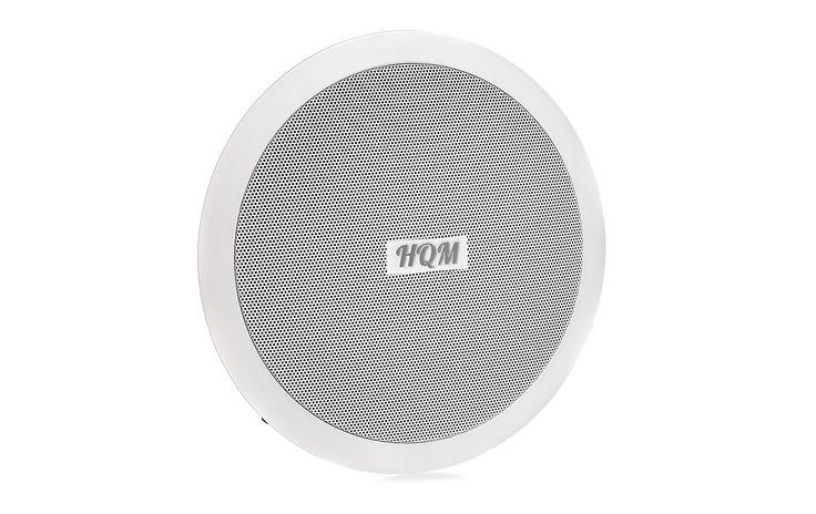 Głośnik sufitowy HQM60T http://hqm.pl/p-hqm-60t  Głośnik sufitowy, okrągły, 6W - 1.5W/3W/6W / 100V, 120Hz - 15kHz 8Ω /  91dB/1W/1m, Głośnik jednodrożny  #audio #sound #music #speakers #indoor #ceiling