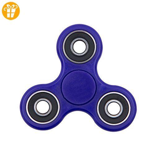 Quik-Shop Fidget Hand Spinner Stress Reducer High Speed ??Keramik Lager Fidget Spielzeug Für ADD / ADHS / Angst und Autismus Erwachsene Kinder (blau) - Fidget spinner (*Partner-Link)