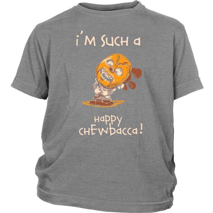 Happy Chewbacca Youth T-Shirt