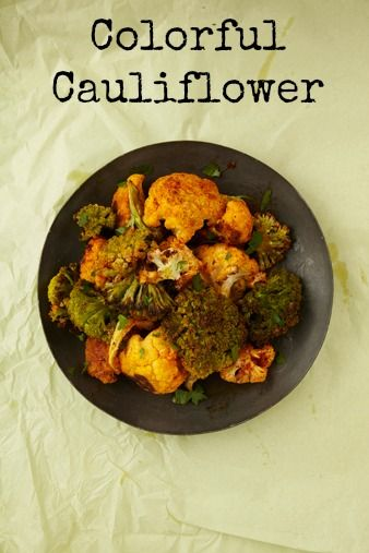Colorful Cauliflower: Colors Cauliflowerthi, Pesach Recipes, Colorful, Colors Cauliflowers, Cauliflowers Yum, Cauliflowers Benefits, Healthy Recipes, Cauliflowers Floret, Passover Recipes
