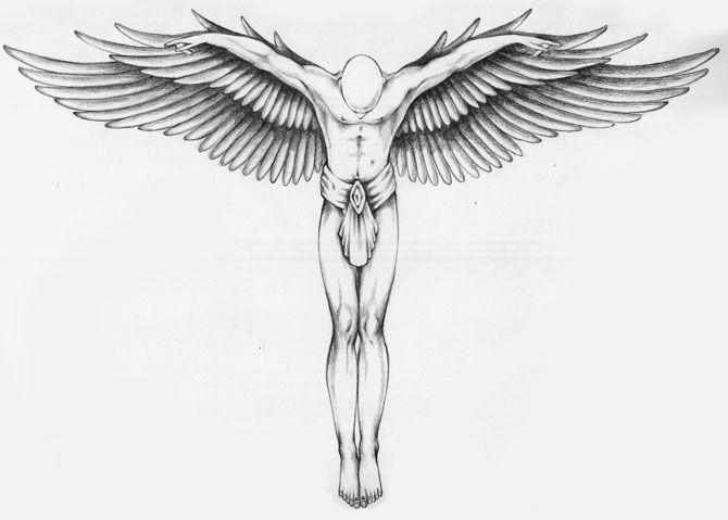 angel tattoo designs - Google Search