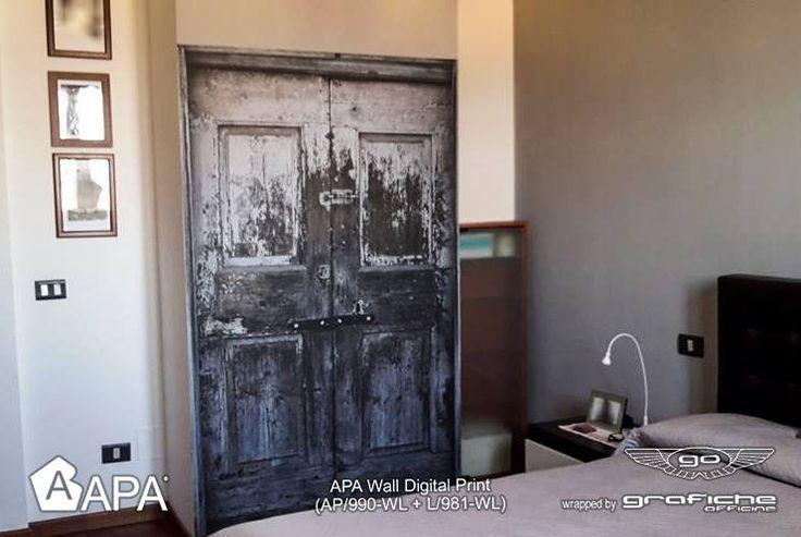 APA Wall (AP/990-WL + L/981-WL): film Cast con tecnologia adesiva micro-canalizzata Air Free FTX System. APA Wall (AP/990-WL + L/981-WL): Cast film with micro-channeled Air free FTX System adhesive technology. #selfadhesive #apastickers #apafilms #apafolie #apavinyl #interiordesign #apawall #walldecoration #ilw #ilovewrapping #apainside