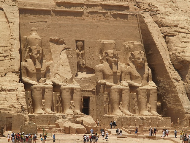 Abu Simbel by amable guerrero, via Flickr