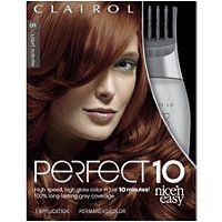 Clairol - Perfect 10 Nice 'n Easy Hair Color in Light Auburn 6R #ultabeauty