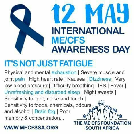 165 Best Me Cfs Relating To May 12 Me Awareness Week
