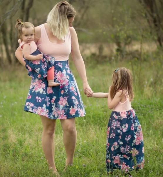 Mommy and Me Zafat Summer Dress – Anabell & Isabella