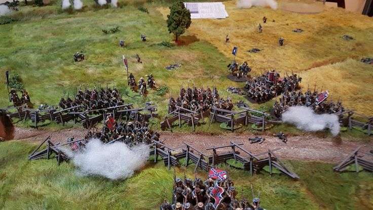 Jay's Wargaming Madness: ACW Pickett's Charge AAR