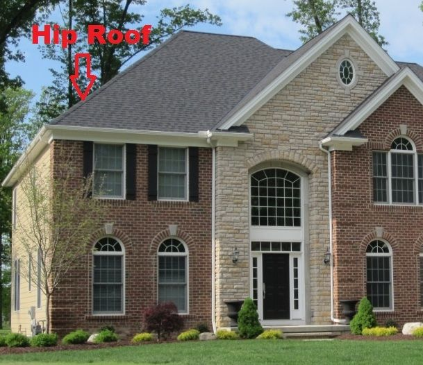 7 best roof styles images on pinterest roof styles for Hip roof advantages and disadvantages