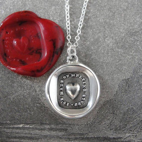 ENGLISH Lettre Forever In Heart Ring Pendentifs famille Collier Coeur Chaîne Cadeau