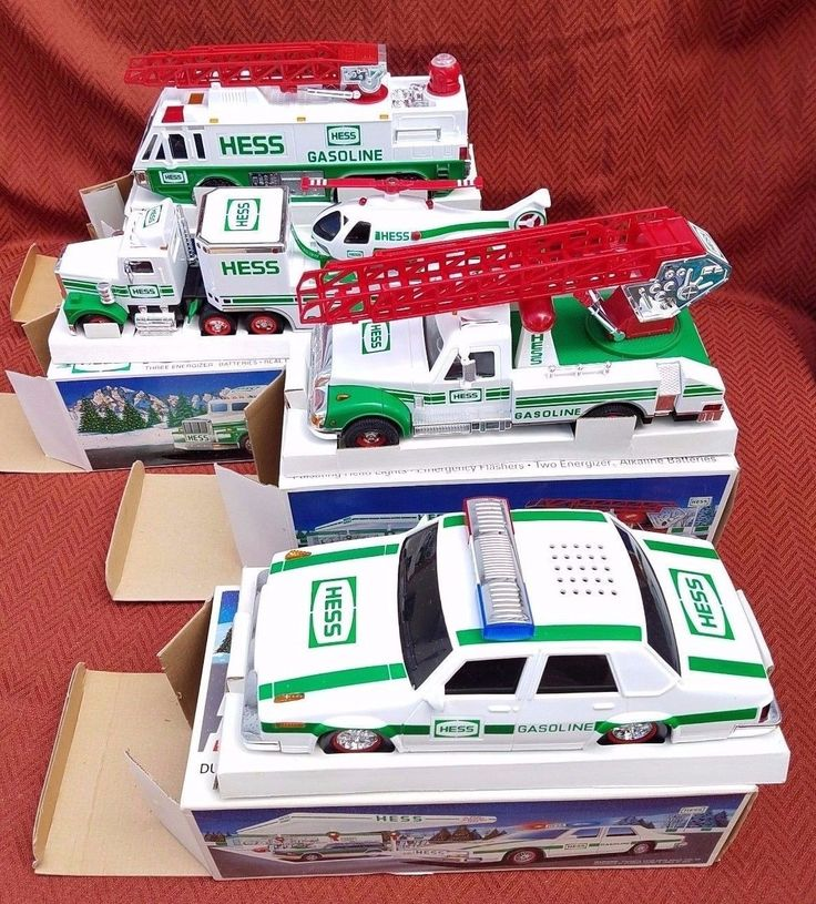 Hess Toy Trucks Lot of 4, 1993 - 1996