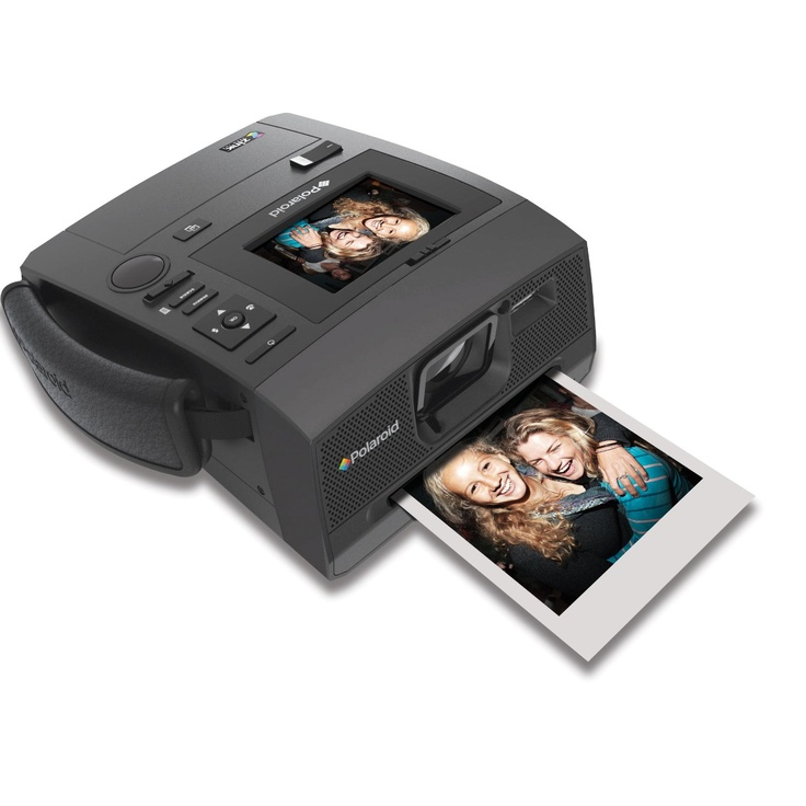 The new Polaroid Z340 Instant Digital Camera with unique ZINK® Zero Ink®