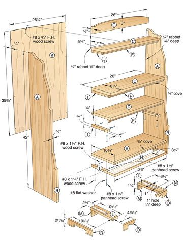 Best Knockdown Bookcase Plans Images On Pinterest Bookcase
