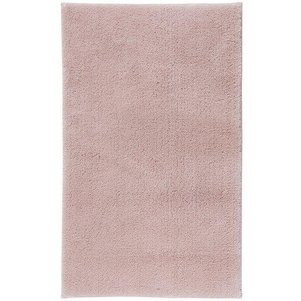 Aquanova Thor Bath Mat   60x100cm   Dusty Pink (93 CAD) ❤ Liked On