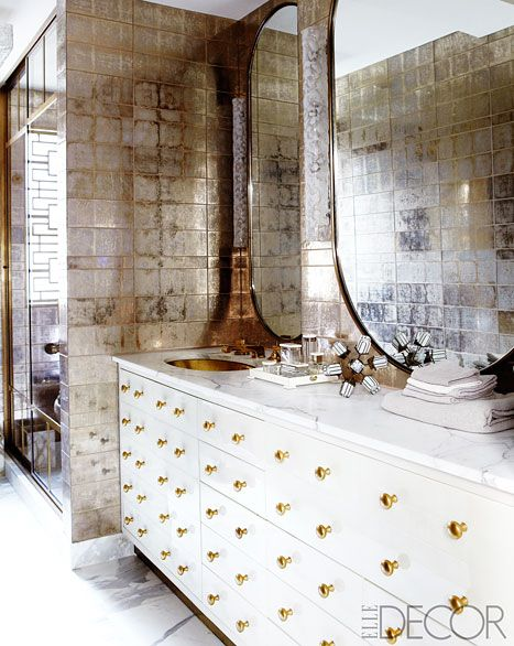 The bathroom of Cameron Diaz's new home