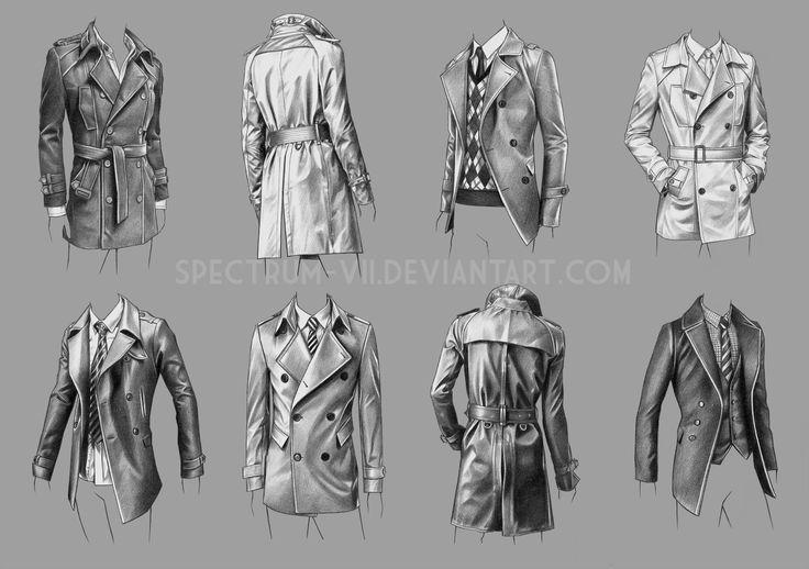 A study in coats by Spectrum-VII.deviantart.com on @DeviantArt