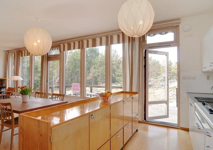 Villa, Ingarö, arkitekt Maj Andersson