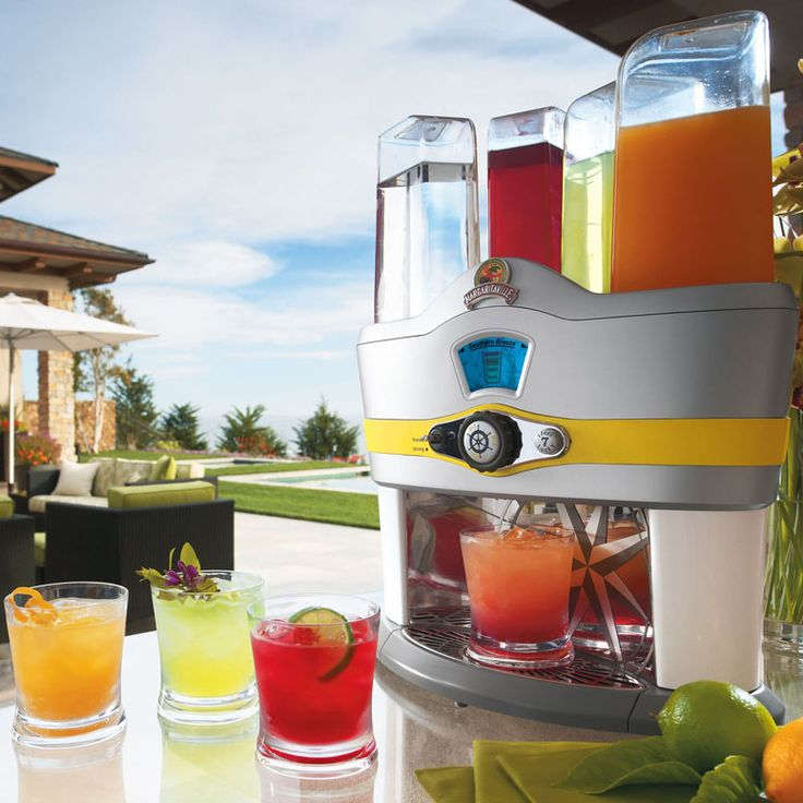 Margaritaville Mixed Drink Machine.  can we say mom and dad's birthday gift for me this fall? YES.