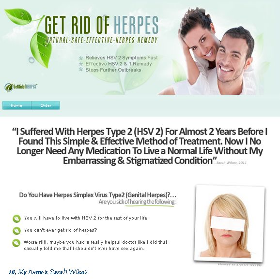 Herpes - Home - How to get rid of genital herpes | HSV Relief