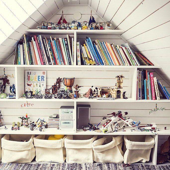Игровая или детская комната на чердаке... Как мне кажется, отличная идея