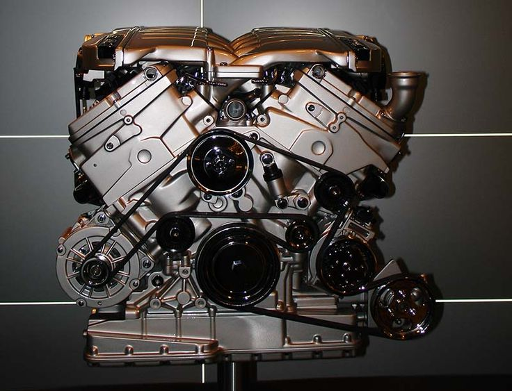 Watch Bentley's Twin Turbo W12 Engine Being Made