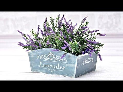 Handmade   - Box for flower - Tutorial DIY ---  By Catherine
