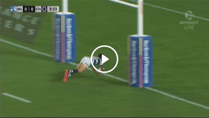 Video Ruthless Auckland thrash Otago as Rieko Ioane scores hat-trick - TVNZ