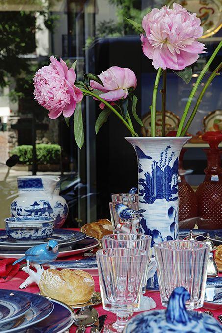 Summer table suggestion by Javier Castilla