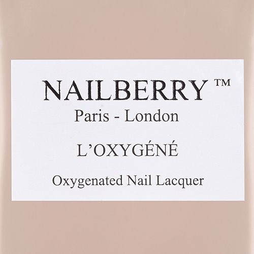 Nailberry Au Naturel - Oxygenated light beige with hint of pink