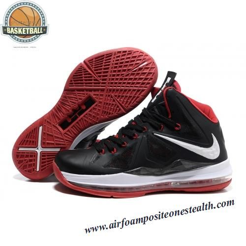 Nike Basketball Shoes Air Max Elite Lebron James Printing 11 Xi P.S Black White Shop At Ease